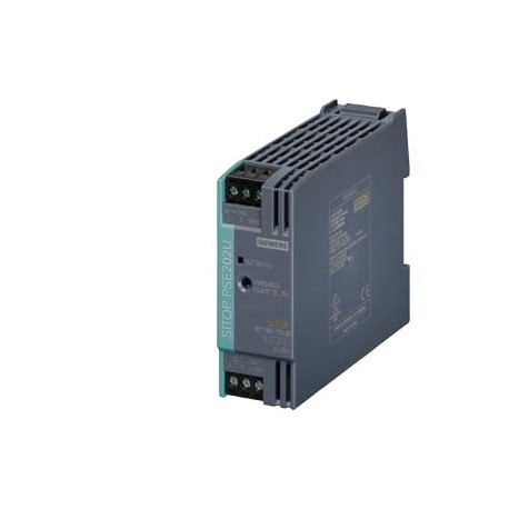 PSE202U, Módulo de redundancia 10A, entrada/salida: DC 24 V, apto para desacoplar 2 fuentes de