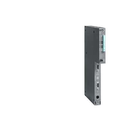 SIMATIC S7-400, CPU 414-2, Módulo central con: Memoria central de 1 MB (0,5 MB código, 0,5 MB datos)