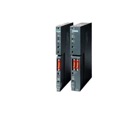SIMATIC S7-400, Fuente de alimentación PS-405: 20A, rango de tensión: DC 24/48/60V, Intensidad de sa