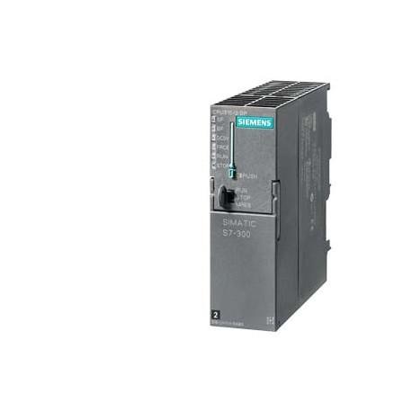 SIMATIC S7-300, CPU 315-2DP CPU con MPI, fuente de alimentación integrada 24V DC Memoria central 256