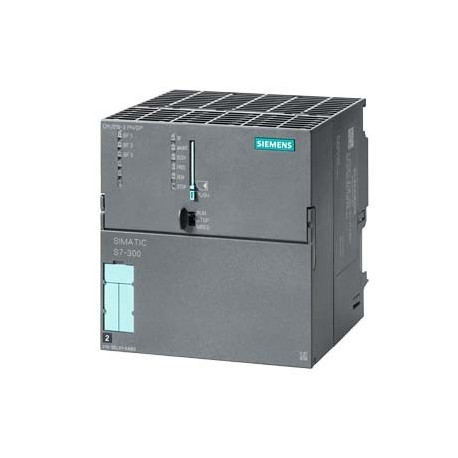 SIMATIC S7-300 CPU 319-3 PN/DP, Módulo central con Memoria central 2 MBYTE, Interfaces 1 MPI/DP 12 M