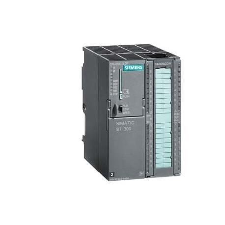 SIMATIC S7-300, CPU 313C-2 DP CPU compacta con MPI, 16 ED/16 SD, 3 contadores rápdios (30 KHZ), Inte