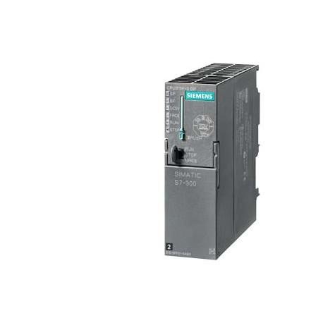 SIMATIC S7-300, CPU 315F-2DP Failsafe con MPI. Alimentación integrada DC 24V, Memoria de carga 384 K