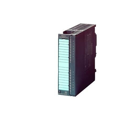 SIMATIC S7-300, Módulo de ED / SD SM 323, con separación galvánica 16 ED y 16 SD, 24 V DC, 0,5 A, co