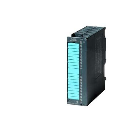 SIMATIC S7-300, SM 332, con separación galvánica por canales, 4 SA, resolución 16 Bitss, 0 - 10V,1-5