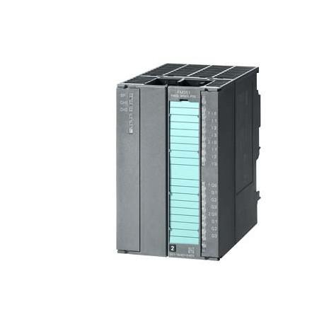 SIMATIC S7-300,FM 351 Módulo de posicionamiento para accionamiento de marcha lenta/rápida con paquet