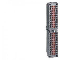 SIMATIC S7-300, conector frontal para módulos de señales con bornes de pinza, 40 polos