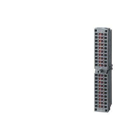 SIMATIC S7-300, conector frontal para módulos de señales con bornes de pinza, 40 polos, 100 unidades