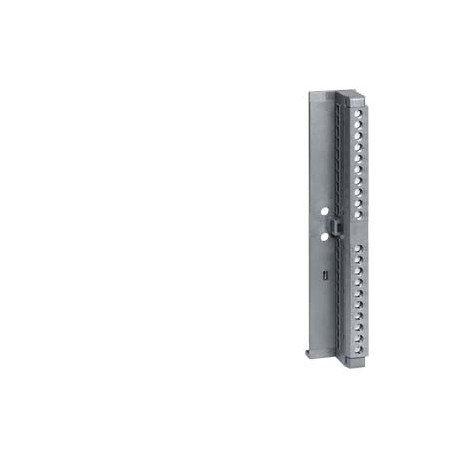 SIMATIC S7-300, conector frontal para bloques de entrada/salida con terminales de tornillo, 20 polos