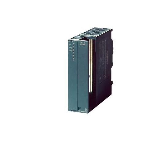 SIMATIC S7-300, CP 340 Procesador de comunicación CP 340, con interfase RS232C (V.24) incluido softw