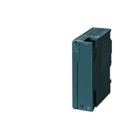 SIPLUS S7-300 CP341 RS422/485 -25...+70 grados C según norma. . basado en 6ES7341-1CH02-0AE0