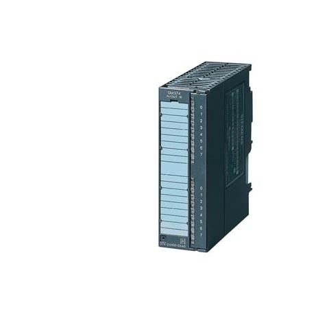 SIMATIC S7-300, Módulo simuladora SM 374, para simulación de 16 entradas y 16 salidas 16 interruptor