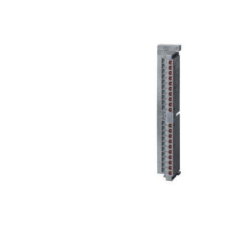SIMATIC S7-300, conector frontal para módulos de señales con terminales de pinza, 20 polos, 100 unid