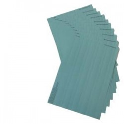 SIMATIC S7-300, 10 hojas de rotulación DIN A4, color petróleo, 10 tiras rotulación / hoja, para Módu