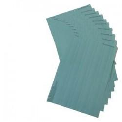 SIMATIC S7-300, 10 hojas de rotulación DIN A4, color beige claro, 10 tiras rotulación / hoja, para M