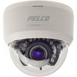 Domo fijo para interiores IR 12V PAL 3-9 Lens camara Minidomo día/noche con LEDs Pelco, CC