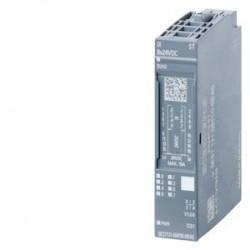 SIMATIC ET 200, 1 módulo electrónico de ED para ET 200SP, 8 ED x 24V DC ESTANDAR. Apto para tipo BU