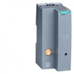 SIMATIC NET, IWLAN ETHERNET módulo cliente SCALANCE W721-1 RJ45, incorpora una interfase de radio (R