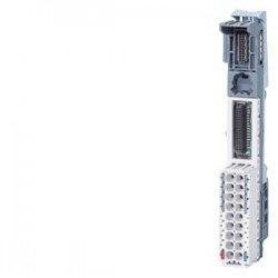 SIMATIC ET 200, BaseUnit BU15-P16+A0+2D/T para ET 200SP, tipo BU A1, bornes PUSH-IN, sin bornes auxi