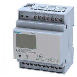 CONTADOR ELECTR. CON DISPLAY, 3 FASES,CT/5A,2XS0,2 TARIFAS, CONEXION A TRANSFORMADOR CALIBRADO SEGUN