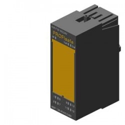 SIMATIC DP, MODULO ELECTRONICO P. ET200S, 4/8 F-DI PROFISAFE, DC 24V, 30MM de ancho, hasta PL E (ISO