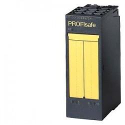 SIMATIC ET 200, 1 módulo electrónico para ET 200S, 4 F-DO PROFISAFE, 24V DC/2A, 30mm de ancho hasta