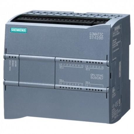 S7-1200, CPU 1214C, AC/DC/RELE, 14DI/10DO/2AI