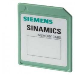 SINAMICS Tarjeta de memoria (SD) SINAMICS Memory Card 512 MB vacía