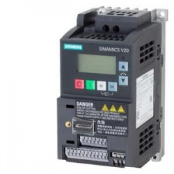V20 1AC 200-240V 0,37 KW con filtro C1