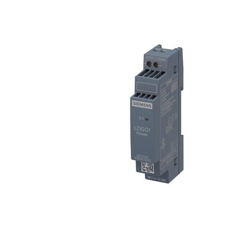 Fuente de alimentación LOGO!Power, monofásica, 24 V DC/0,6 A