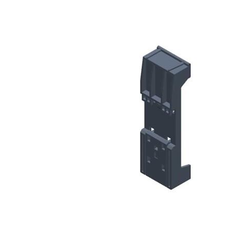 SIMATIC S7-300, adaptador para abrochar la PS307 sobre perfil DIN DE 35X15/7,5 mm apto para 6ES7307-