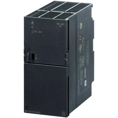 SIMATIC S7-300, PS 307 de 5 A, fuente de alimentación estabilizada, entrada: AC 120/230 V, salida: D
